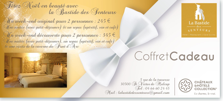 Coffret Cadeau Nol Htel Restaurant Cvennes Bastide